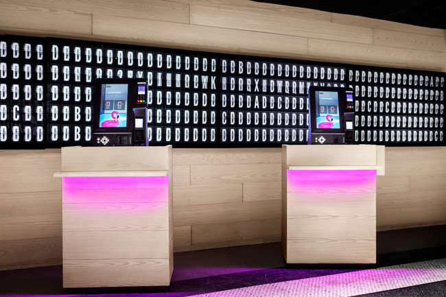 Contactless Arrival Kiosks at Moxy NYC Times Square