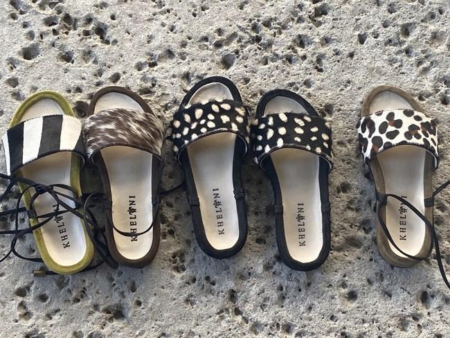 Kheloni little greek sandal collection