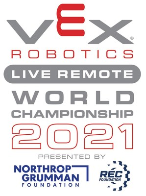 VEX Robotics Live Remote World Championship presented by the REC Foundation.