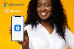 IDEMIA Collaborates with Microsoft to Deliver Secure, Digital...