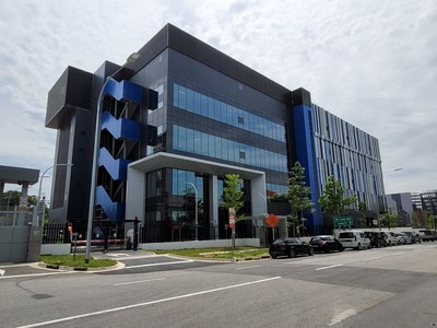 Digital Realty's new Digital Loyang II / SIN12 Data Center in Singapore.