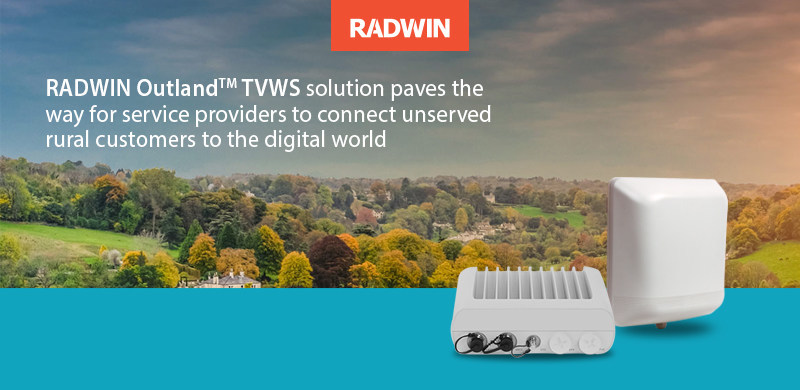 OutlandTM leverages on RADWIN's state-of-the art technology and more than 20 years of fixed wireless access expertise.