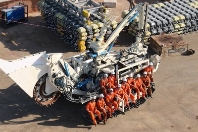 Enshore Subsea's T1 trenching asset, Middle East 2018