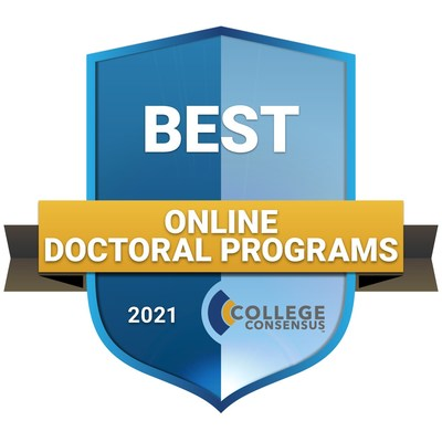 College Consensus Best Online Doctoral Programs 2021