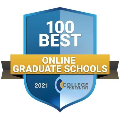 College Consensus Best Online Graduate Schools 2021