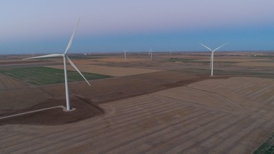 Cimarron Bend Wind Farm in Clark County, Kansas is supplying the energy to Boehringer Ingelheim's manufacturing site in St. Joseph, Missouri.
