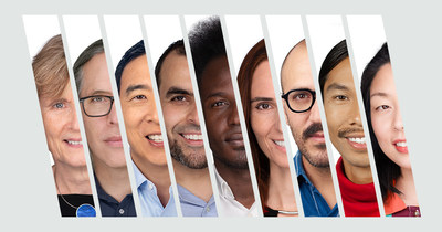 The Vilcek Foundation Prizewinners. A digital collage featuring headshots of the 2021 recipients of the Vilcek Foundation Prizes. From left to right, photographs include Ruth Lehmann, Rodrigo Prieto, Andrew Yang, Mohamed Abou Donia, Ibrahim Cissé, Silvi Rouskin, Juan Pablo González, Miko Revereza, and Nanfu Wang.