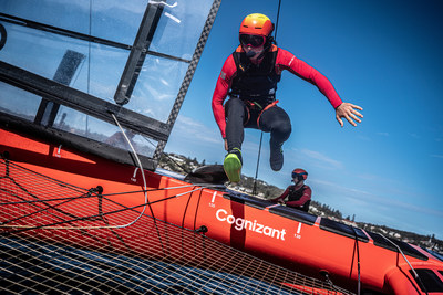 Cognizant will help reimagine the sailing fan experience and augment Internet of Things technology on SailGP F50 catamarans through a new multi-year partnership.
