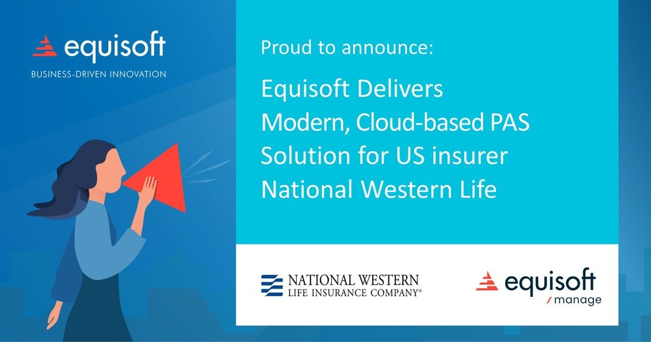 Designed for quick and easy transformations, Equisoft/manage is a turnkey cloud-hosted (SaaS) solution using well-established, production-ready digital business processes to enable quick and easy transformations. (CNW Group/Equisoft)