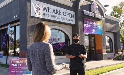 Taco Bell is aiming to hire 5,000 new team members on April 21 for the brand's fourth annual national Hiring Parties event.