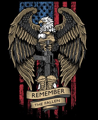Nine Line Apparel commemorative t-shirt to honor fallen service members