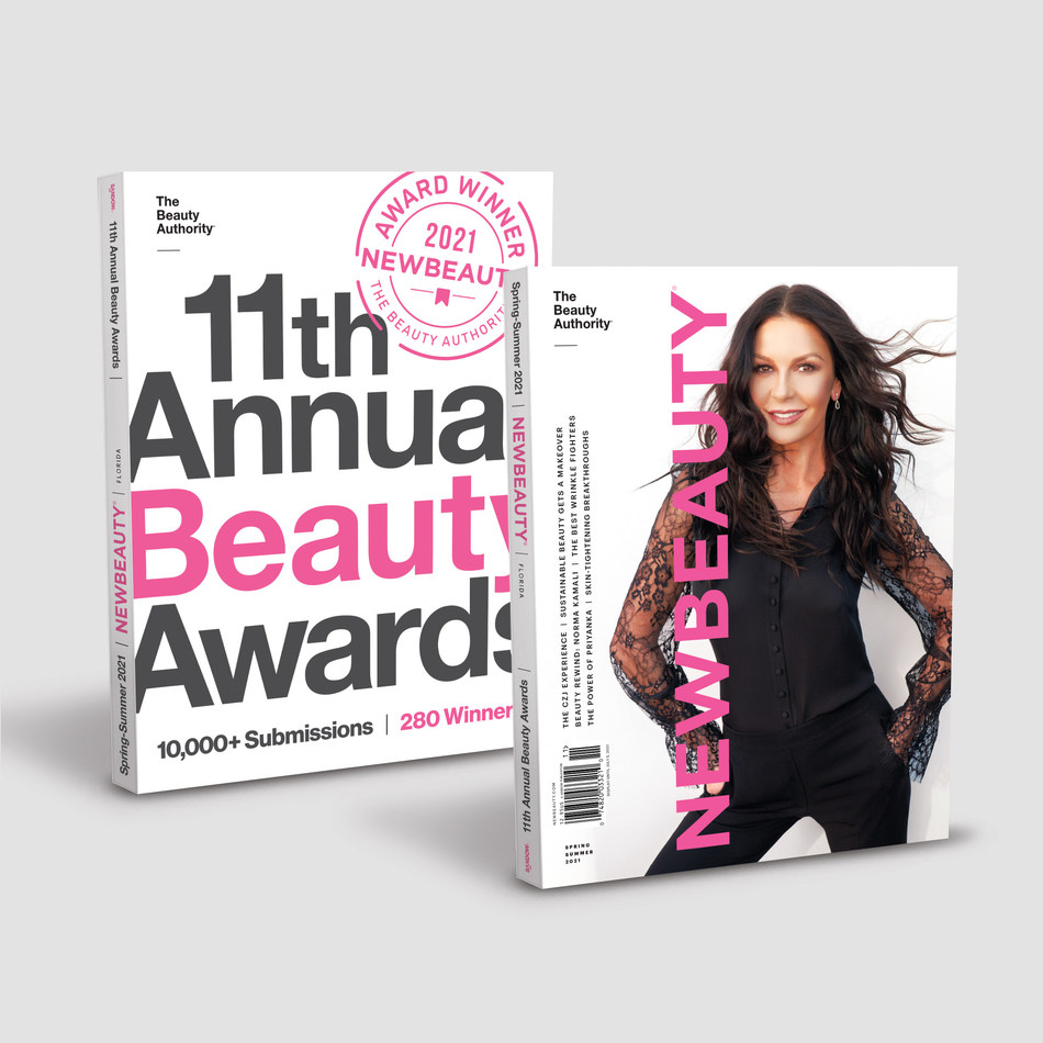 The NewBeauty Awards are announced in the Spring issue of NewBeauty, on newsstands nationwide April 6, 2021.