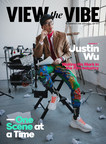 Triple threat, Justin Wu, stars on View the VIBE April digital cover championing Asian-Canadian talent