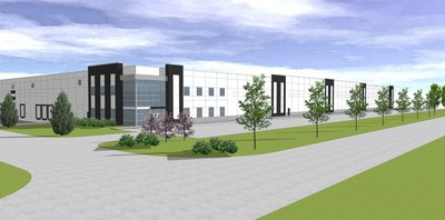 Rendering of Spec Lot 9 within Mohr Logistics Park in Whiteland, Indiana