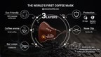 World's First Coffee Face Mask AirX Announces New Eco-Fashion...