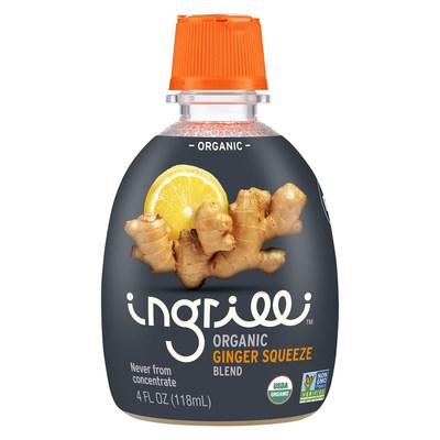 Ingrilli Citrus, Inc. - Ingrilli™ Organic Ginger Squeeze Blend