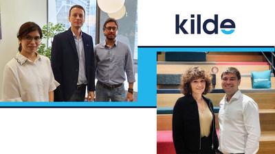 KILDE Team, from left Namrata Goswami, Radek Jezbera, Gustavo Leal, Aleksandra Yurchenko, Oleg Kryukoskiy