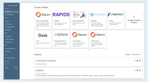 Saturn Cloud Introduces Free Cloud-Hosted Data Science Platform for Everyday and GPU-Accelerated Workloads