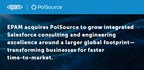 EPAM Expands Salesforce Capabilities with Acquisition of PolSource...