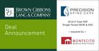 BGL Announces the Sale of the Real Estate Portfolio of Precision...