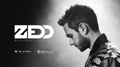 ZOUK GROUP ANNOUNCES ZEDD AS INAUGURAL RESIDENT DJ AT RESORTS WORLD LAS VEGAS