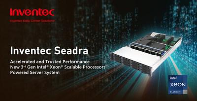 Inventec Seadra - 3rd Gen Intel Xeon Scalable Processors