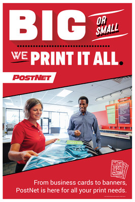 PostNet is helping businesses grow using high-quality printed materials.