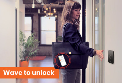 Openpath's touchless Wave to Unlock access control