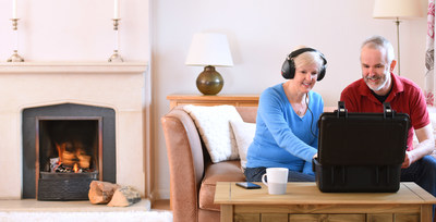 Advanced hearing care from the comfort of your sofa (PRNewsfoto/Online Hearing Care)