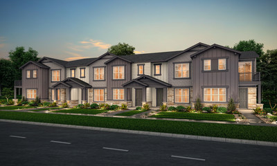Townhomes at Coal Creek Commons in Erie, CO | Century Communities