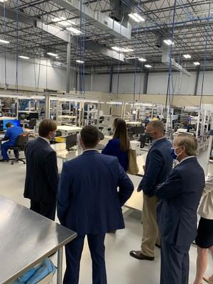 Senator Tim Scott's staff tours Diversified Medical Healthcare