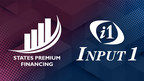 States Premium Financing names Input 1 as technology services partner for its insurance premium lending business