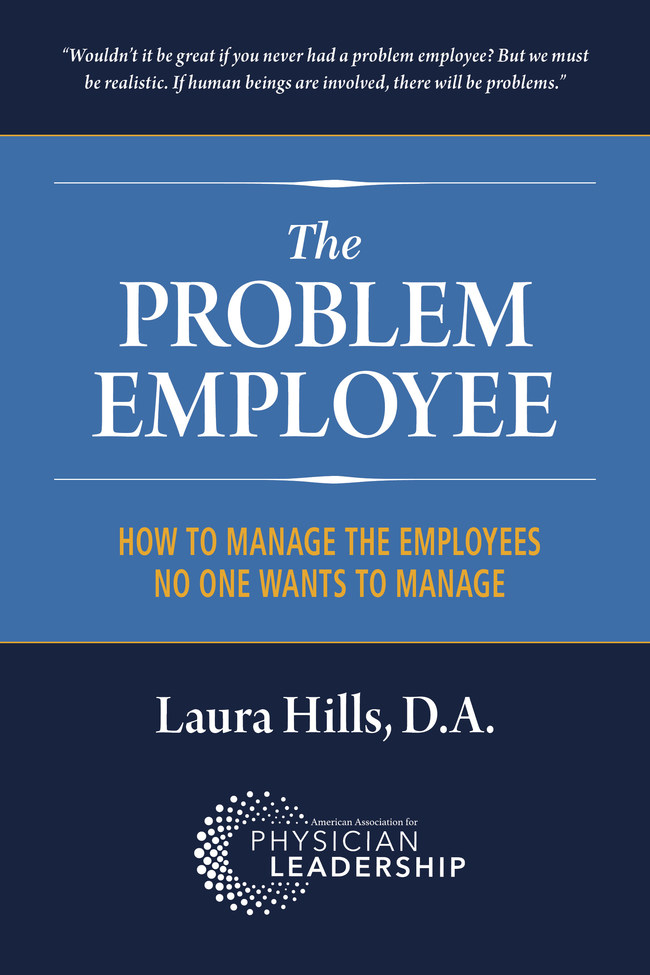 Cover Image of Problem Employees by Dr. Laura Hills