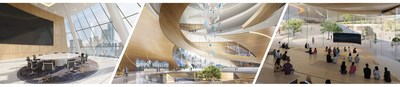 The cutting-edge Virtual Campus was designed by leading architectural firm, HKS, Inc.