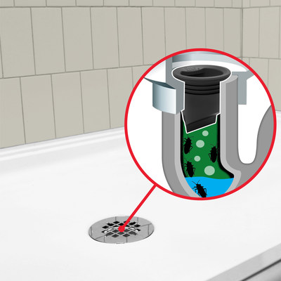 Oatey's Drain Seal is engineered with a drainage system that prevents water from evaporating in the P-Trap and allows for continuous water flow.