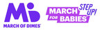 March of Dimes 'Step Up Challenge' Aims to Raise Critical Funds...