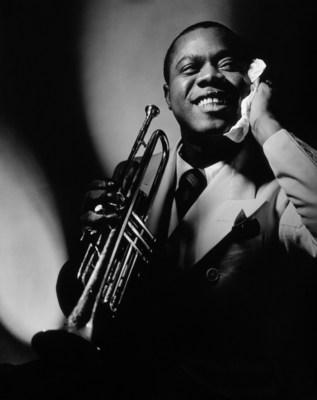 Jazz icon Louis Armstrong for Vanity Fair 1935. Photo Credit: Anton Bruehl/Condé Nast/Shutterstock