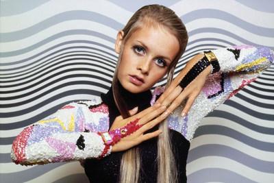 Model Twiggy for Vogue 1967. Photo Credit: Bert Stern/Condé Nast/Shutterstock