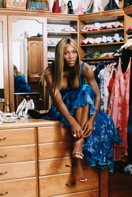 Powerhouse Serena Williams for Self 2005. Photo Credit: Arthur Elgort/Condé Nast/Shutterstock