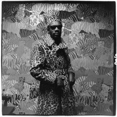 Soul singer Isaac Hayes for GQ 1971. Photo Credit: Peter Hujar/Condé Nast/Shutterstock