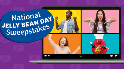 Zoom Fatigued? Jelly Belly Offers Fun Break In Honor Of National Jelly Bean Day