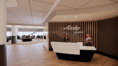 Alaska Airlines announces new plans to open Lounge at San Francisco International Airport by summer 2021Note: Lounge design is subject to change from artistic renderings