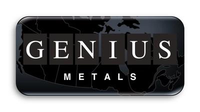 Genius Metals Inc. Logo (CNW Group/Genius Metals Inc.)