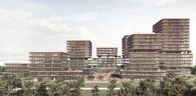 Futuristic campus design of Siemens Healthineers