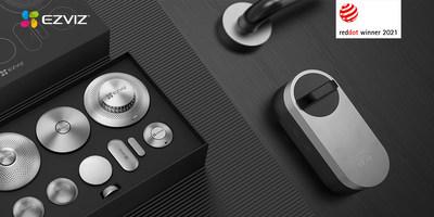 Os produtos vencedores mostram a liderança da EZVIZ no design centrado no usuário.