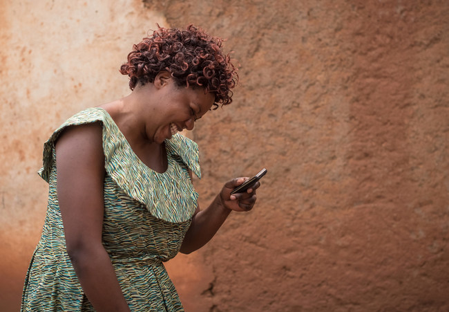 Through the new DreamSave technology, unbanked women will receive personal credit scores for the first time ever, along with helpful tips to improve their financial health.