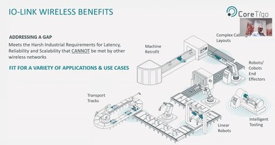 IO-Link Wireless Benefits by CoreTigo