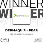 "DermaQuip - PEAR receives ""Best Technology for Skin Analysis"" in..."