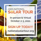 ASES National Solar Tour Coming Soon to a Neighborhood Near You...