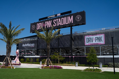 "AutoNation and Inter Miami CF Partner to Drive Out Cancer. Inter Miami CF Renames Stadium ""DRV PNK Stadium"""